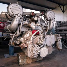 Verniciatura motori detroit diesel