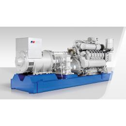 ELECTRICAL POWER RANGE: 770- 2500 KW -60 Hz
