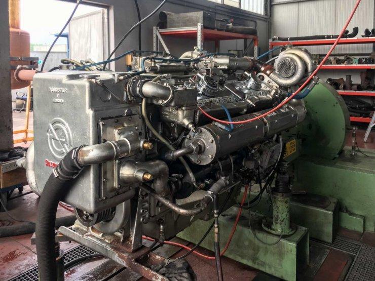 Prova motore Detroit Diesel