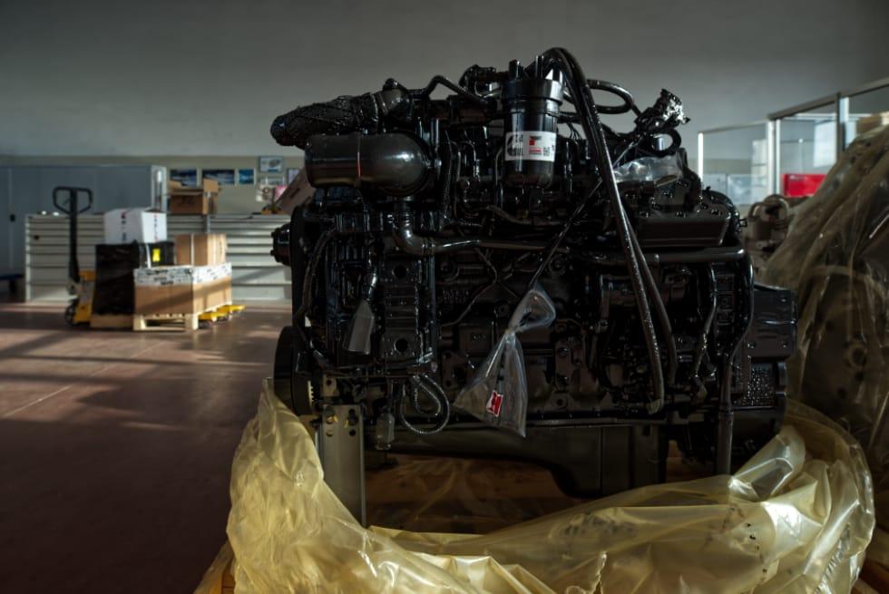immagine del motore Cummins QSB6.7173