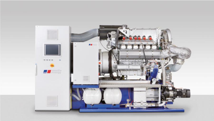 motori a biogas