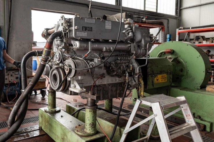 Prova motore MTU