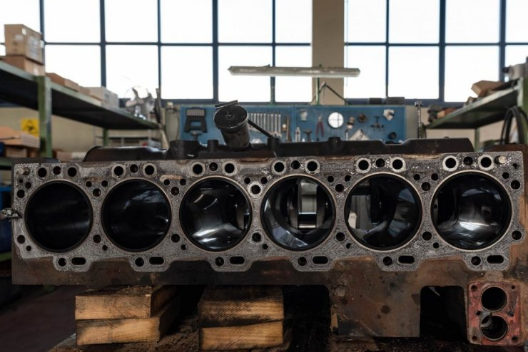 Smontaggio motore