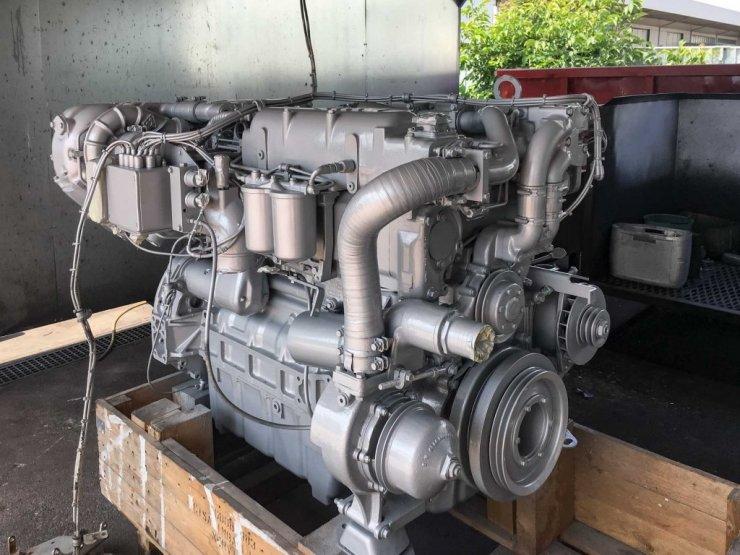 Motore MTU dopo della verniciatura